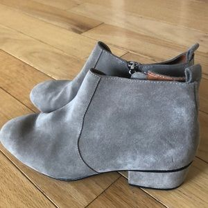 Ladies Rebecca Minkoff leather shoe boots